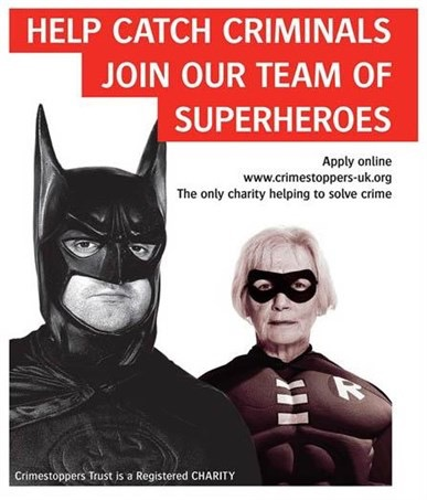 Superheroes volunteers 1