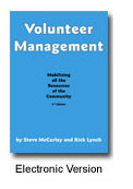 Volunteer Management: Mobilizing All the Resources of the Community